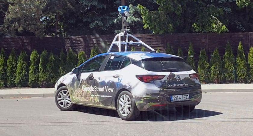 Samochod Google Street View Fotografuje Lomze Video Lomza