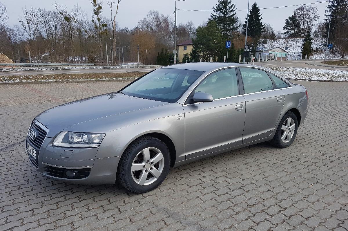Ogromny Auto do ślubu - Audi A6 C6 - ogłoszenia 305602 | myLomza.pl NT82